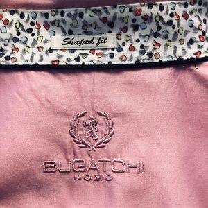 Bugatchi Large LS Shaped Fit Button Up Shirt